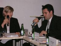 Na semináři Stavebního fóra - tlumočení pro jeho excelenci Dana Balanesca, chargé d´affaires Rumunské ambasády v Praze