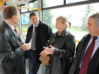 S delegací Radnice statutárního města Oradea - březen 2007 při výběrovém řízení na dodávku tramvají